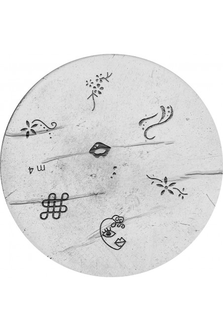 Stamping-Schablone