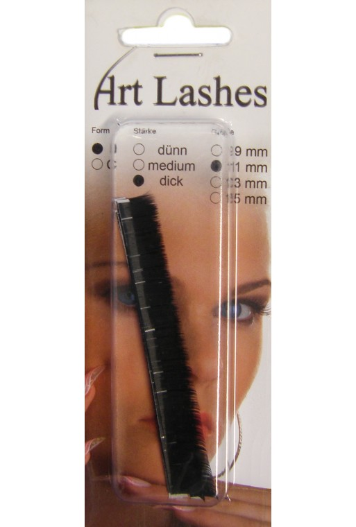 Art Lashes ~ J-Form